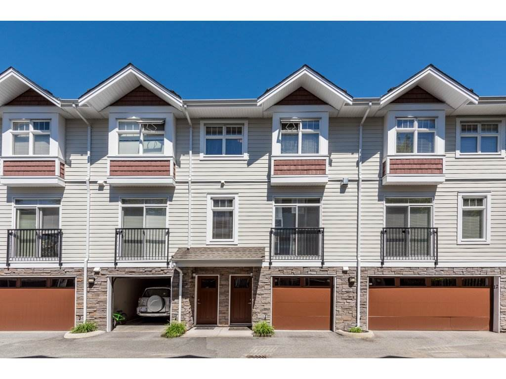 "Main Photo: 11 2689 PARKWAY Drive in Surrey: King George Corridor Townhouse for sale in ""ALLURE"" (South Surrey White Rock)  : MLS(r) # R2168982"