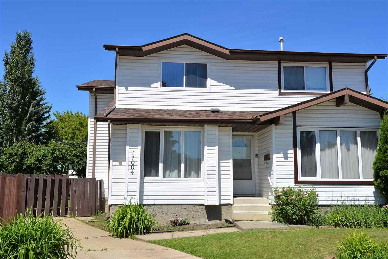 Main Photo: 17004 103 Street in Edmonton: Zone 27 House Half Duplex for sale : MLS(r) # E4070450