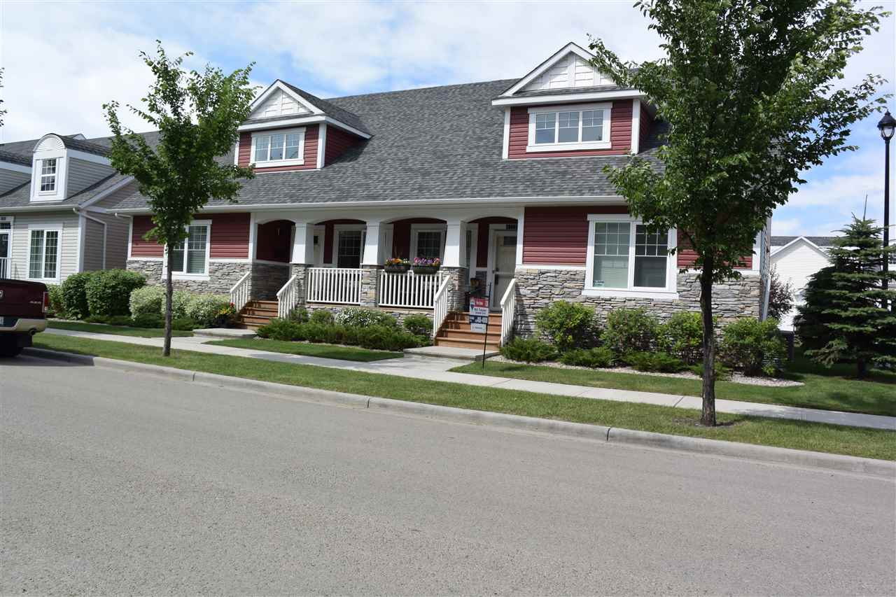 Main Photo: 4372 VETERANS Way in Edmonton: Zone 27 Townhouse for sale : MLS® # E4071161