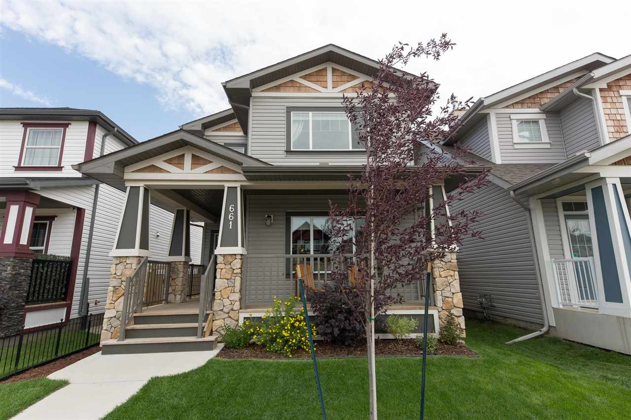 Main Photo: 661 SECORD Boulevard in Edmonton: Zone 58 House for sale : MLS® # E4077969