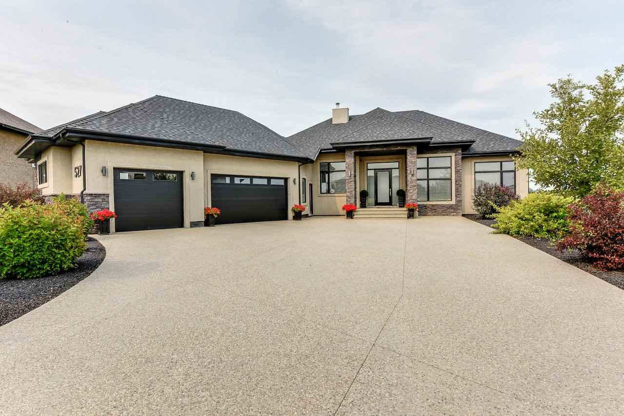Main Photo: 527 Manor Pointe Court NW: Rural Sturgeon County House for sale : MLS® # E4079118