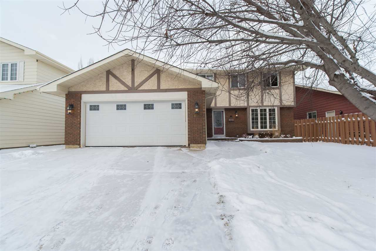 Main Photo: 80 GARIEPY Crescent in Edmonton: Zone 20 House for sale : MLS® # E4087799