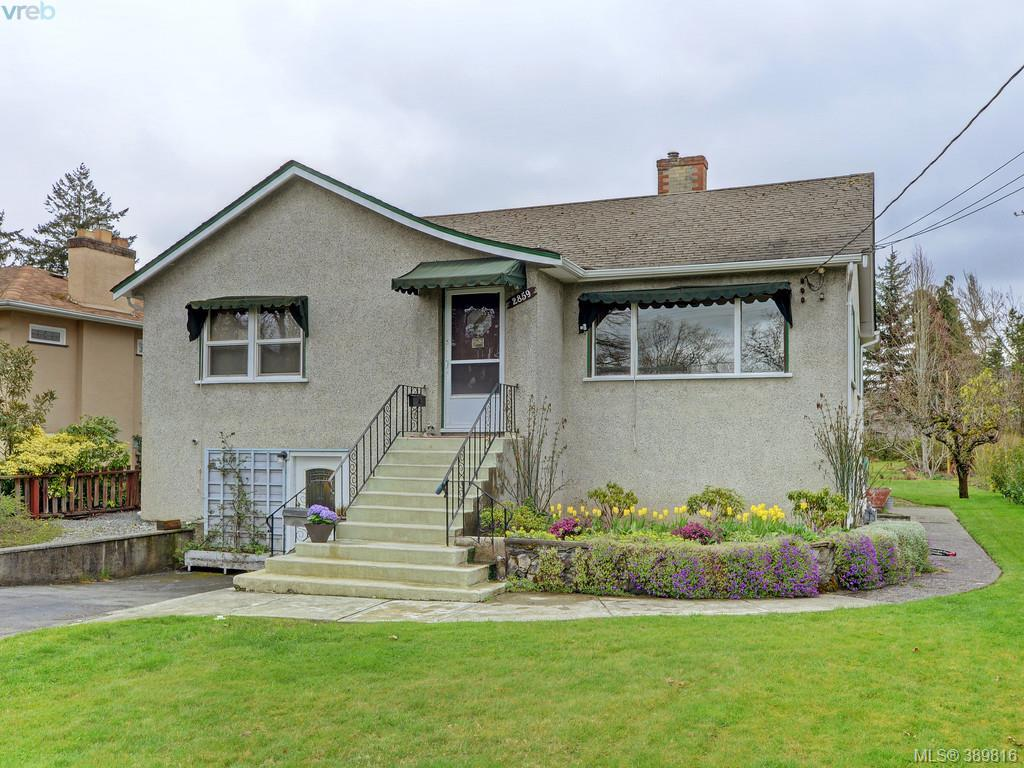 Main Photo: 2859 Colquitz Avenue in VICTORIA: SW Gorge Single Family Detached for sale (Saanich West)  : MLS®# 389816