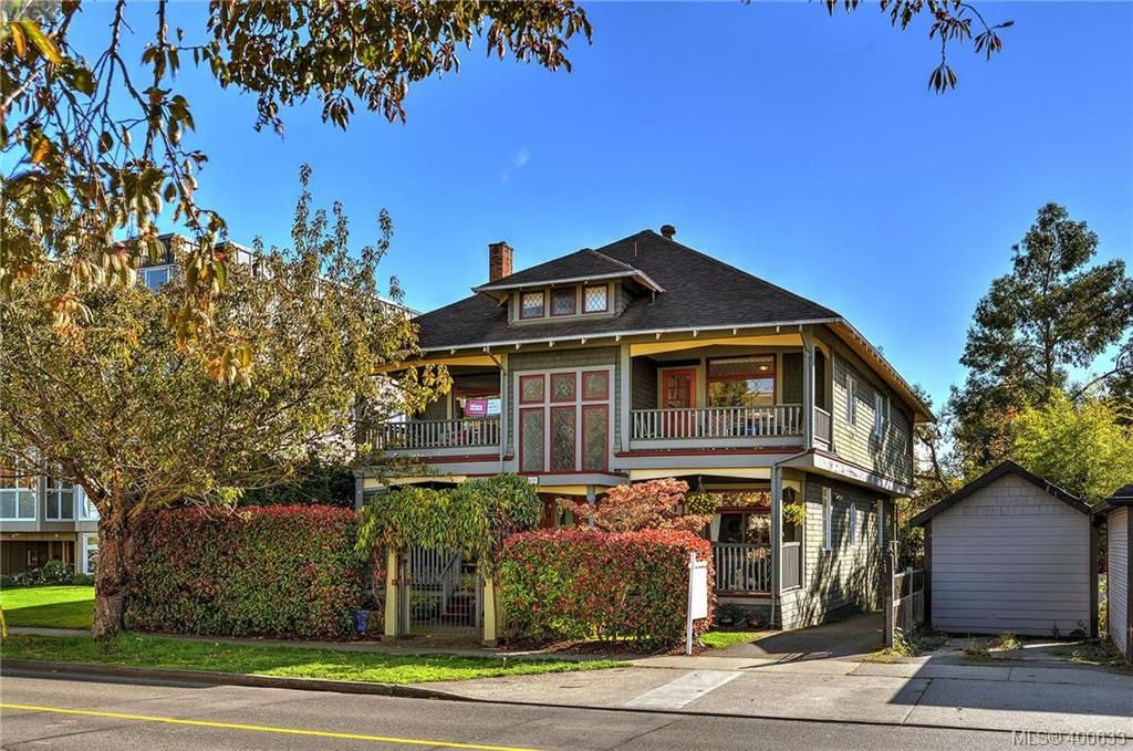 Main Photo: 2 1009 Southgate Street in VICTORIA: Vi Fairfield West Townhouse for sale (Victoria)  : MLS®# 400633