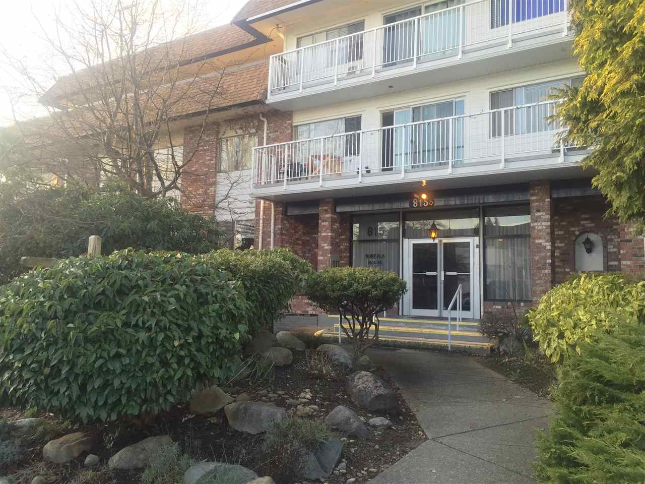 "Main Photo: 103 815 FOURTH Avenue in New Westminster: Uptown NW Condo for sale in ""NORFOLK HOUSE"" : MLS® # R2031799"