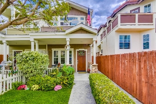 Main Photo: CORONADO VILLAGE Townhome for sale : 3 bedrooms : 755 D Ave in Coronado