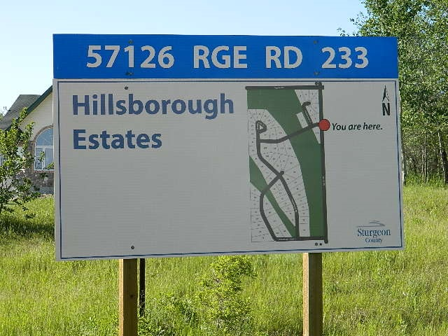 Main Photo: 68 Hillsboroough Heights: Rural Sturgeon County Rural Land/Vacant Lot for sale : MLS(r) # E4062834