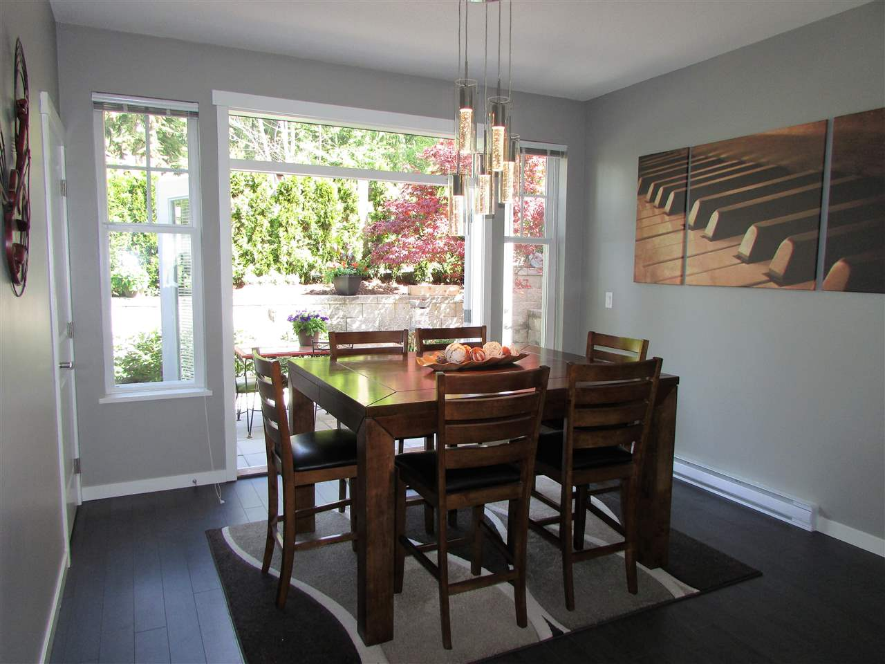 "Photo 4: 10 3470 HIGHLAND Drive in Coquitlam: Burke Mountain Townhouse for sale in ""BRIDLEWOOD"" : MLS® # R2164105"