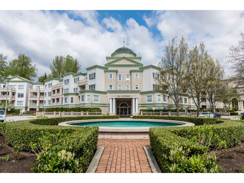 "Main Photo: 111 2975 PRINCESS GATE Crescent in Coquitlam: Canyon Springs Condo for sale in ""THE JEFFERSON"" : MLS®# R2262905"