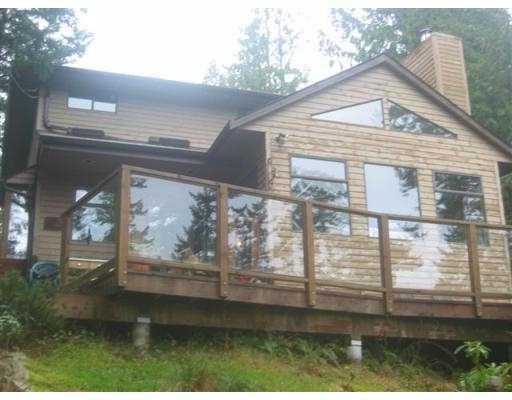 "Main Photo: 1307 OCEANVIEW RD: Bowen Island House for sale in ""BOWEN"" : MLS® # V571163"