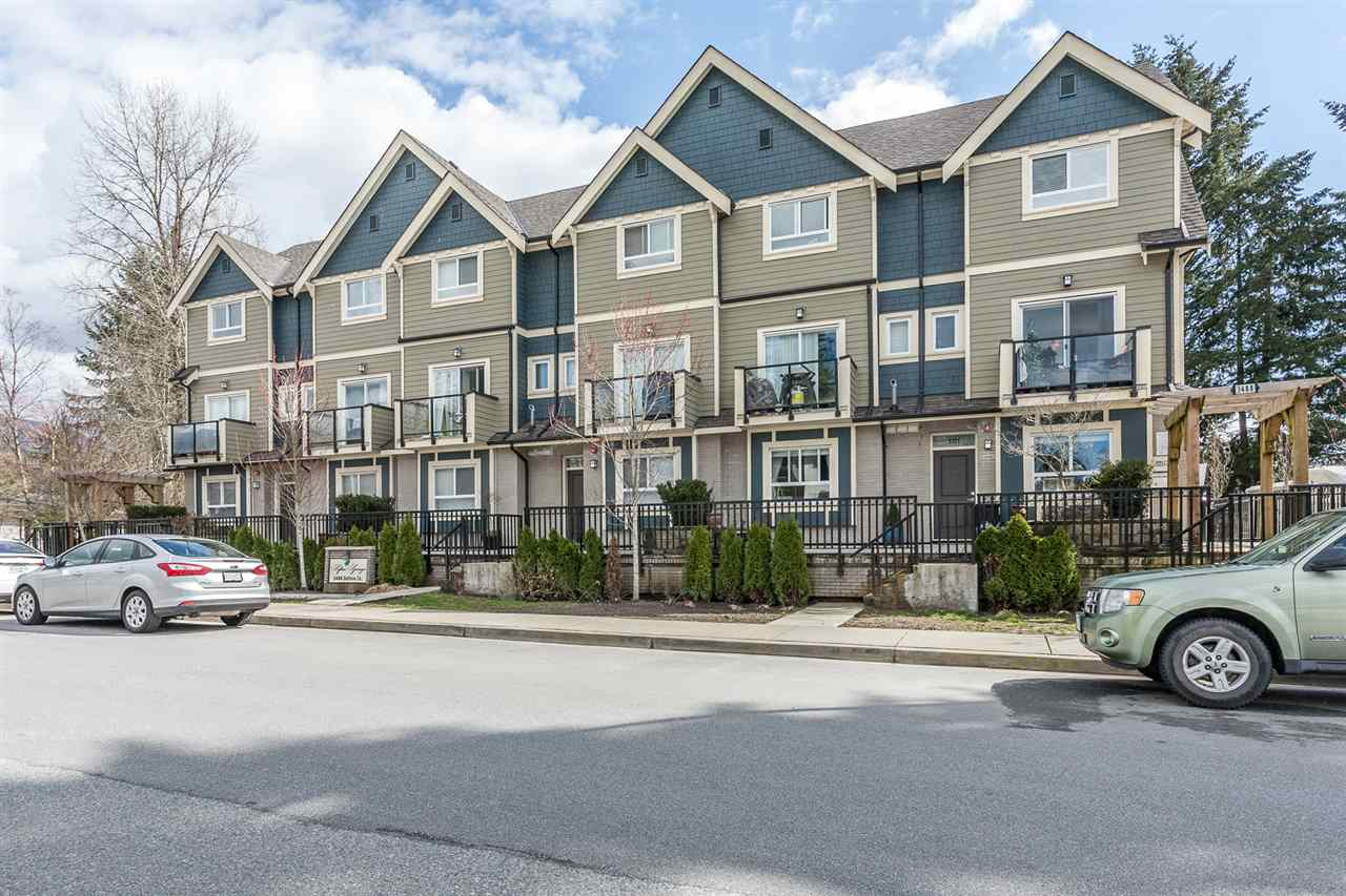 "Main Photo: 101 3488 SEFTON Street in Port Coquitlam: Glenwood PQ Townhouse for sale in ""Sefton Springs"" : MLS® # R2153348"