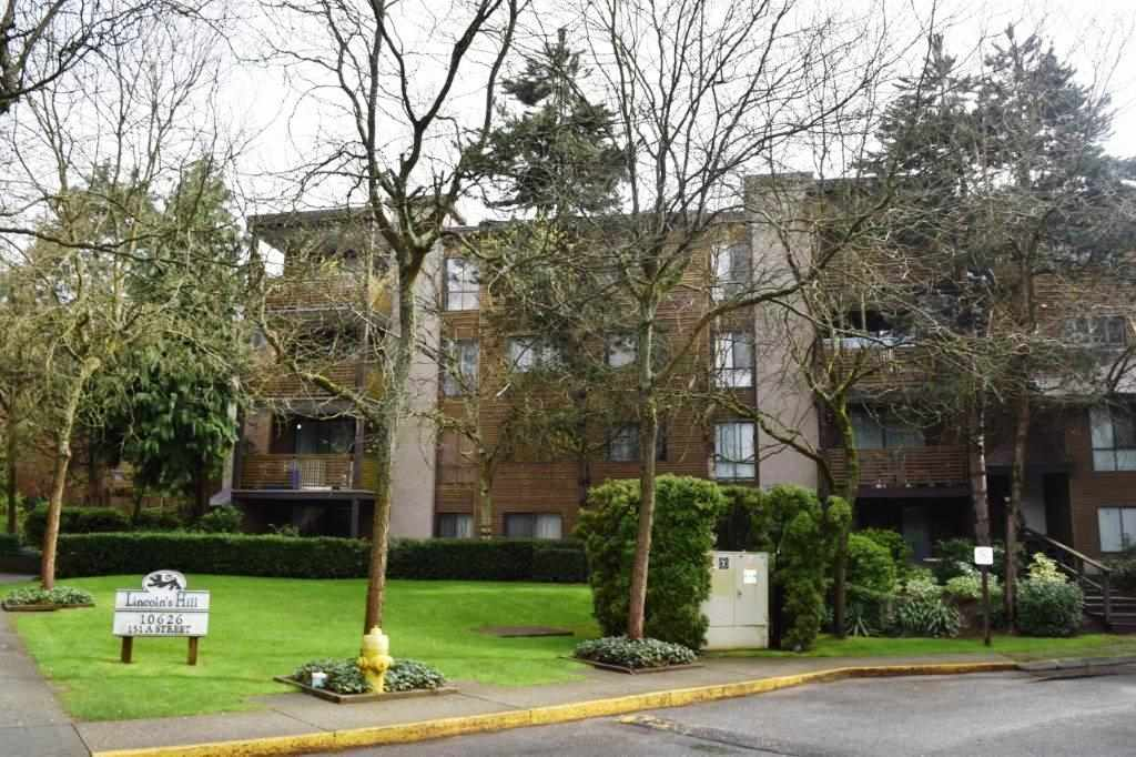 "Main Photo: 308 10626 151A Street in Surrey: Guildford Condo for sale in ""LINCOLN'S HILL"" (North Surrey)  : MLS® # R2159079"