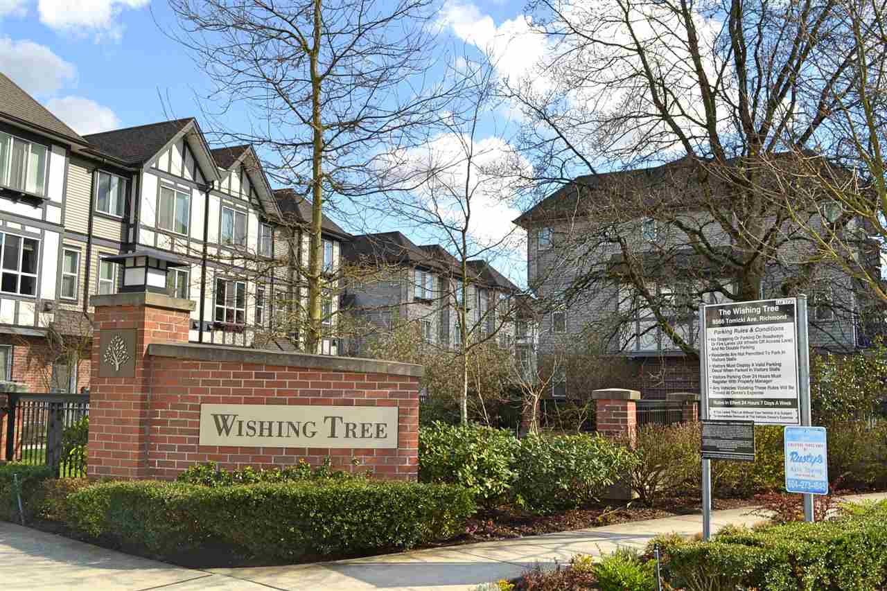 Main Photo: 72 9566 TOMICKI Avenue in Richmond: West Cambie Townhouse for sale : MLS®# R2162557