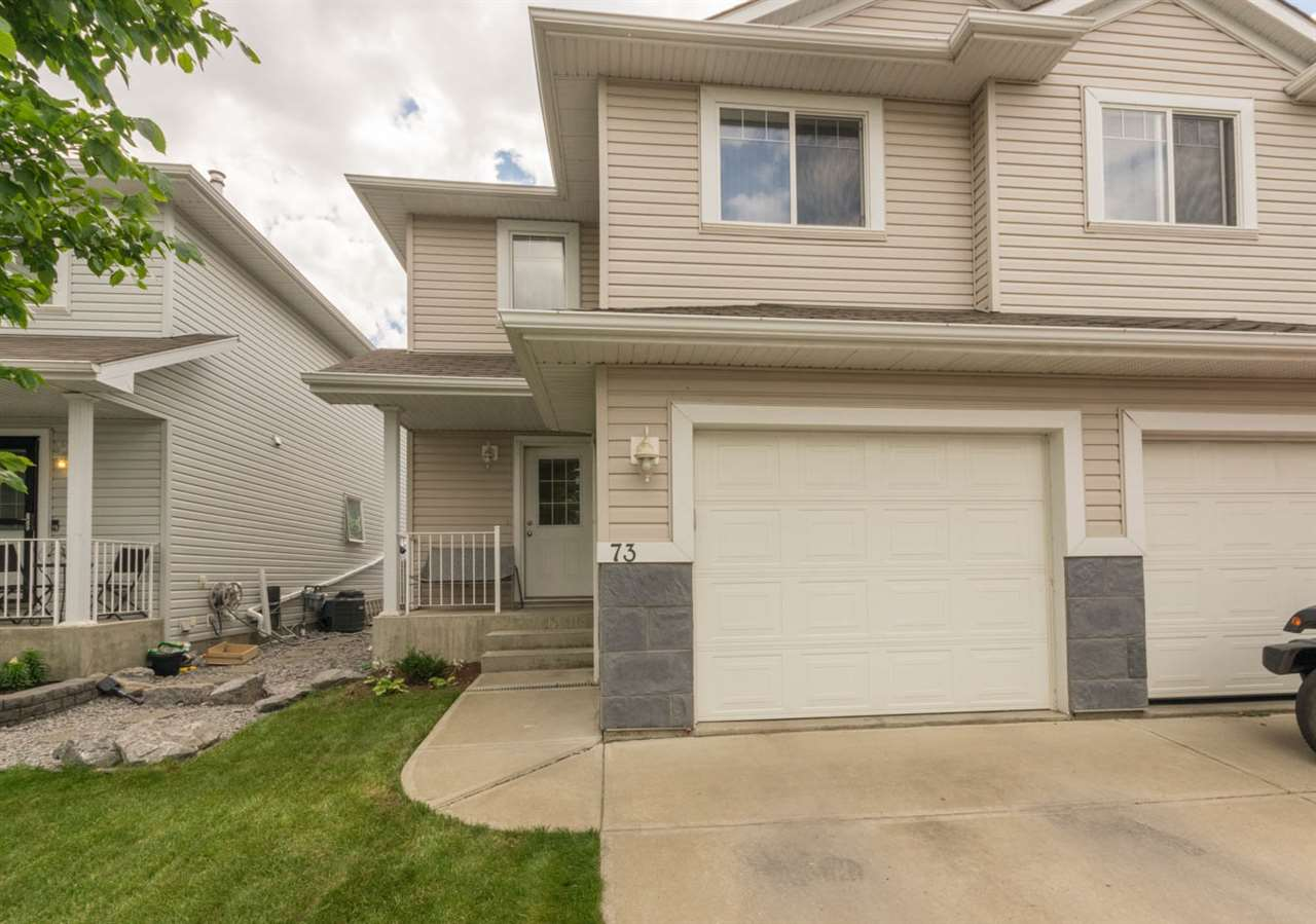 Main Photo: 73 4350 23 Street in Edmonton: Zone 30 House Half Duplex for sale : MLS(r) # E4069499
