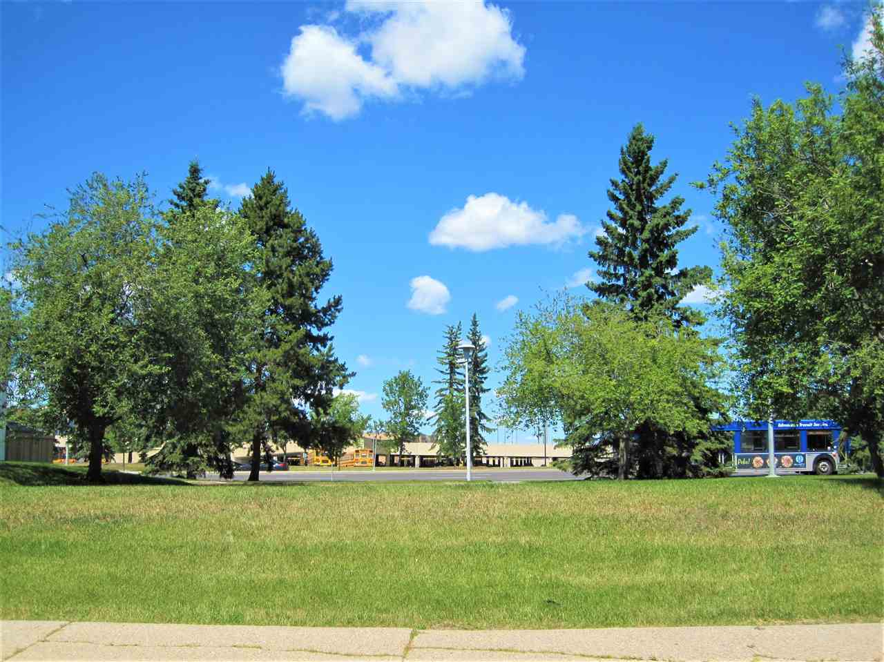 Outside your back yard. Literally across the street from West Edmonton Mall & a major bus stop