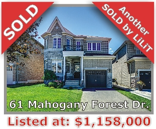 Main Photo: 61 Mahogany Forest Dr in Vaughan: Patterson Freehold for sale