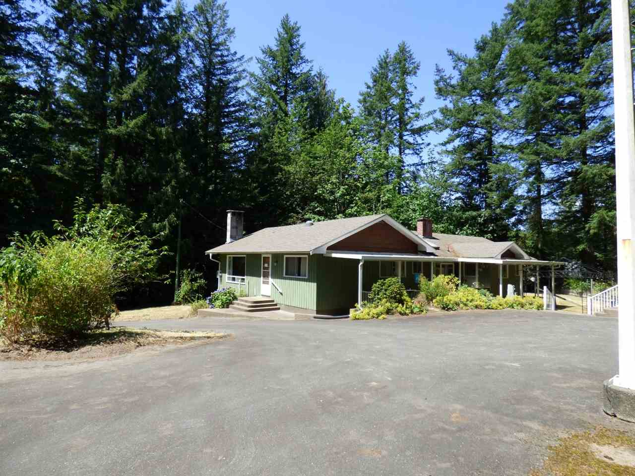 Main Photo: 3636 COLUMBIA VALLEY Road: Cultus Lake House for sale : MLS®# R2189345