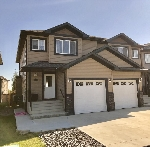 Main Photo: 16717 60 Street in Edmonton: Zone 03 House Half Duplex for sale : MLS® # E4082271