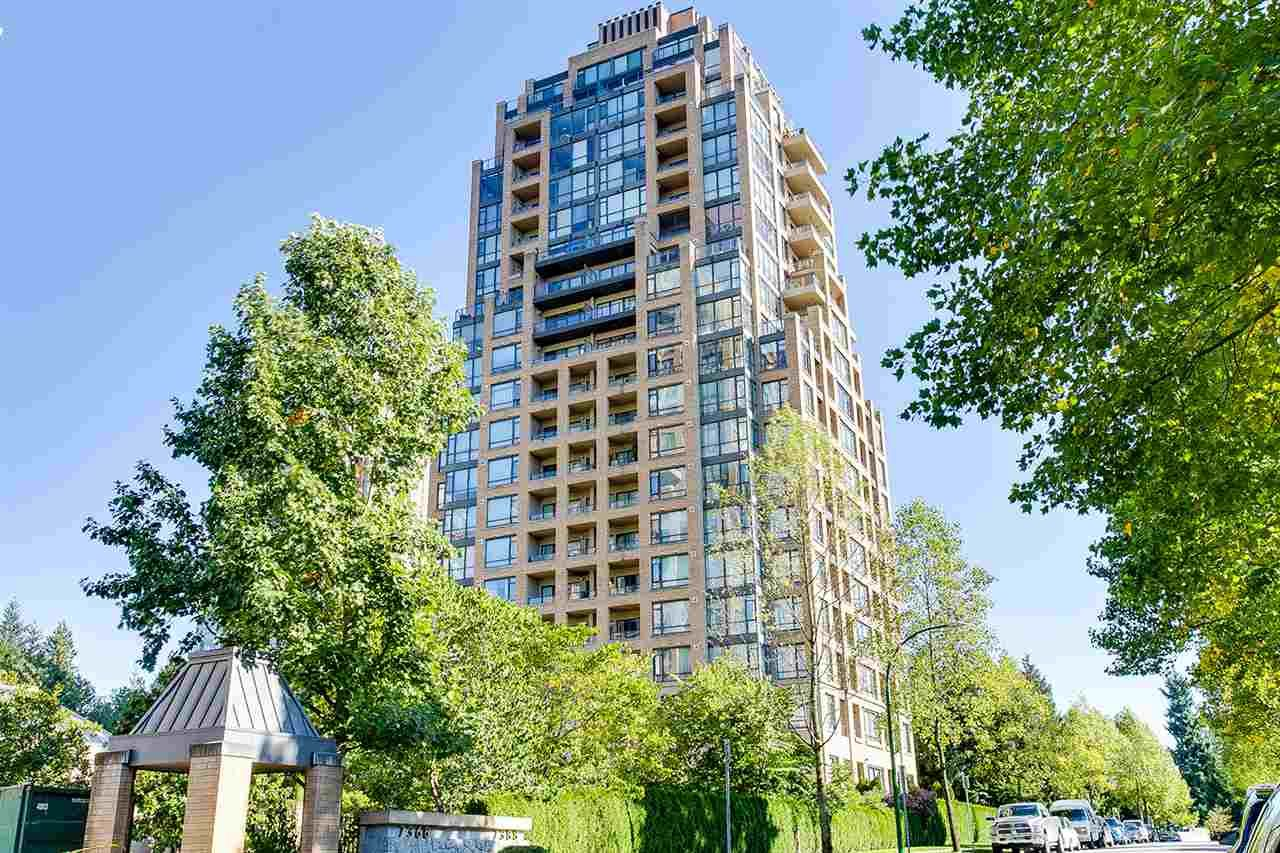 "Main Photo: 803 7388 SANDBORNE Avenue in Burnaby: South Slope Condo for sale in ""MAYFAIR PLACE"" (Burnaby South)  : MLS®# R2211113"
