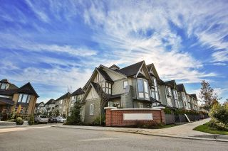 "Main Photo: 107 8138 204 Street in Langley: Willoughby Heights Townhouse for sale in ""Ashbury & Oak"" : MLS® # R2218599"