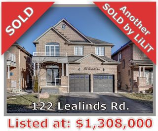 Main Photo: 122 Lealinds Rd in Vaughan: Patterson Freehold for sale