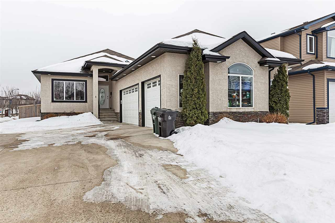 Main Photo: 1 Danfield Place: Spruce Grove House for sale : MLS®# E4101043