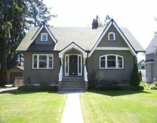 Main Photo: 3540 W 36TH AV in Vancouver: Dunbar House for sale (Vancouver West)  : MLS(r) # V593559