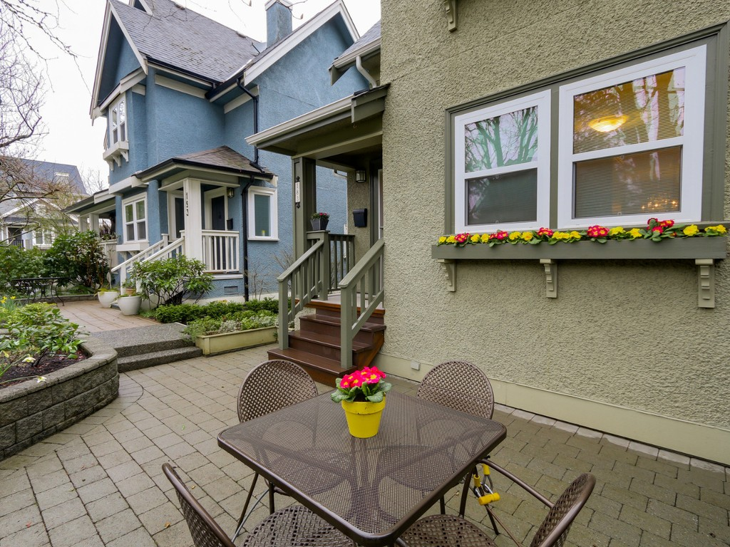 Photo 3: 183 W 13TH Avenue in Vancouver: Mount Pleasant VW Townhouse for sale (Vancouver West)  : MLS® # R2041356