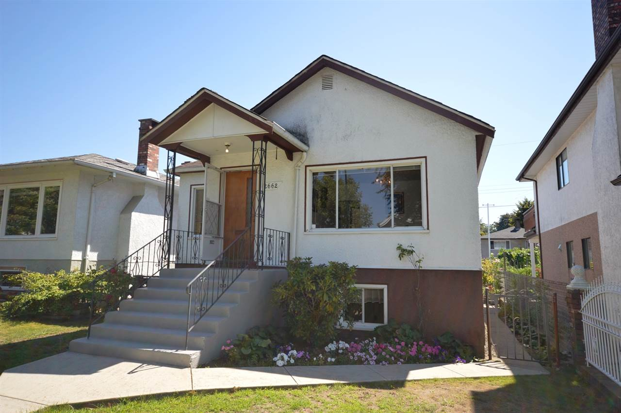 Main Photo: 2662 VENABLES Street in Vancouver: Renfrew VE House for sale (Vancouver East)  : MLS® # R2095835