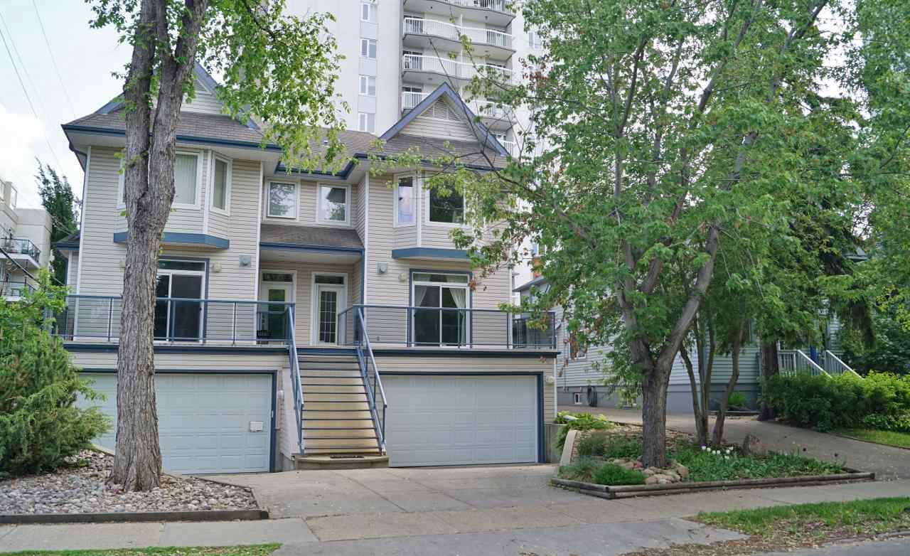 Main Photo: 11221 99 Avenue in Edmonton: Zone 12 House Half Duplex for sale : MLS® # E4077261