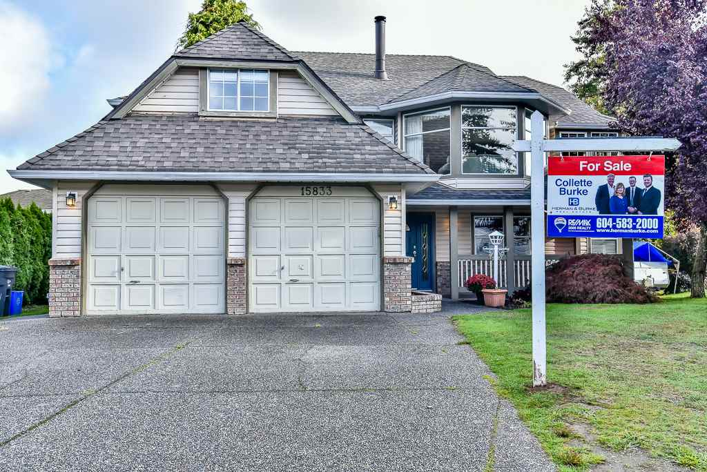 Main Photo: 15833 91 Avenue in Surrey: Fleetwood Tynehead House for sale : MLS® # R2213982