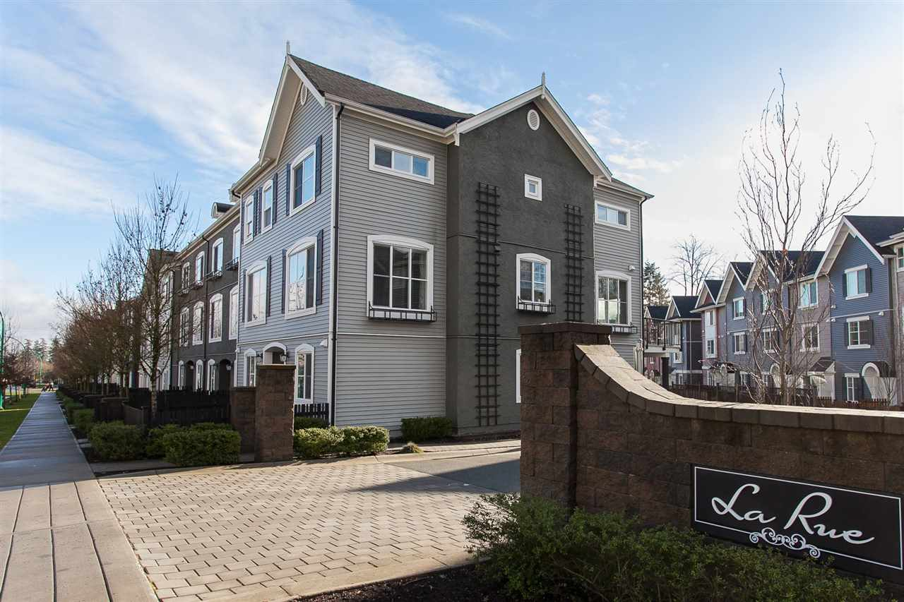 "Main Photo: 26 19180 65 Avenue in Surrey: Clayton Townhouse for sale in ""La Rue"" (Cloverdale)  : MLS® # R2231114"