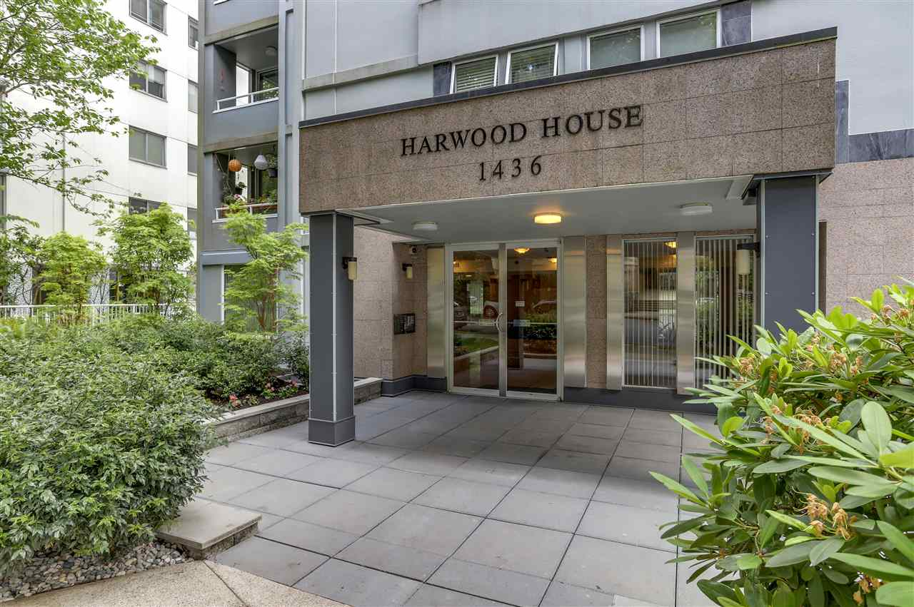 "Main Photo: 502 1436 HARWOOD Street in Vancouver: West End VW Condo for sale in ""HARWOOD HOUSE"" (Vancouver West)  : MLS®# R2302732"