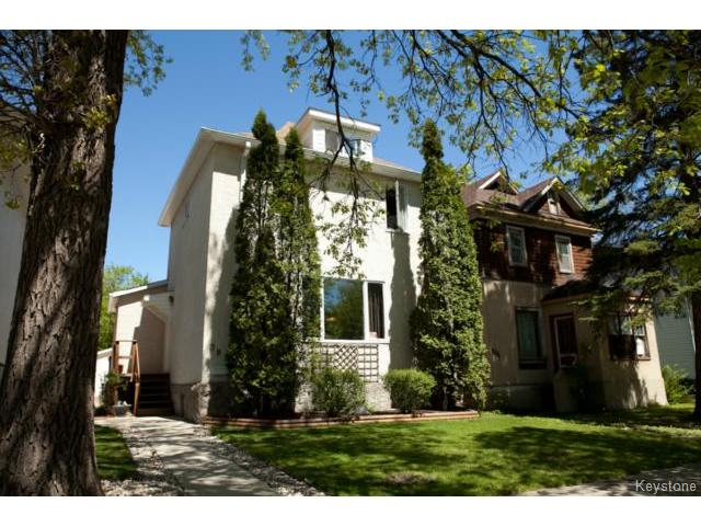 Main Photo: 391 Dubuc Street in WINNIPEG: St Boniface Residential for sale (South East Winnipeg)  : MLS(r) # 1406279