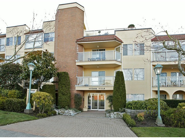 "Main Photo: 206 1280 FIR Street: White Rock Condo for sale in ""Oceana Villa"" (South Surrey White Rock)  : MLS® # F1408038"