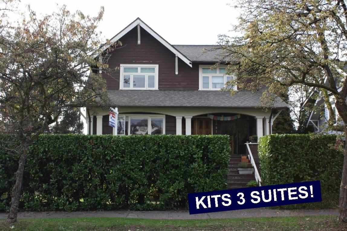 Main Photo: 2239 BLENHEIM Street in Vancouver: Kitsilano House for sale (Vancouver West)  : MLS(r) # R2007602