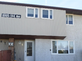 Main Photo: 3 8005 144 Avenue in Edmonton: Zone 02 Townhouse for sale : MLS(r) # E4035255
