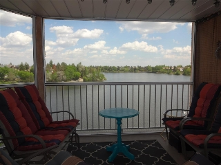Screened - Private Balcony over looking the lake.