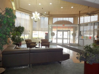 Front foyer of building.