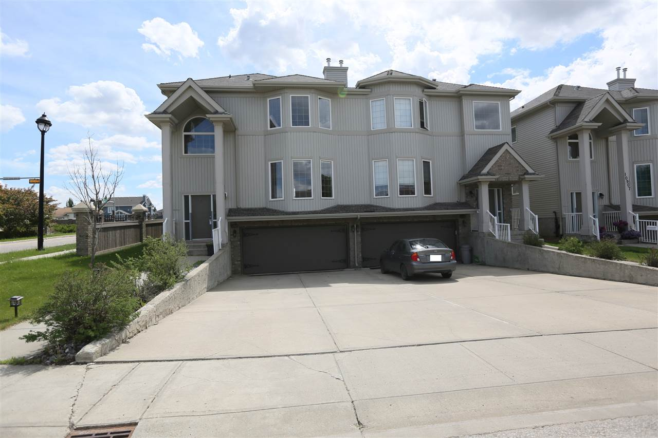 Main Photo: 10903 8 Avenue in Edmonton: Zone 55 House Half Duplex for sale : MLS® # E4067630