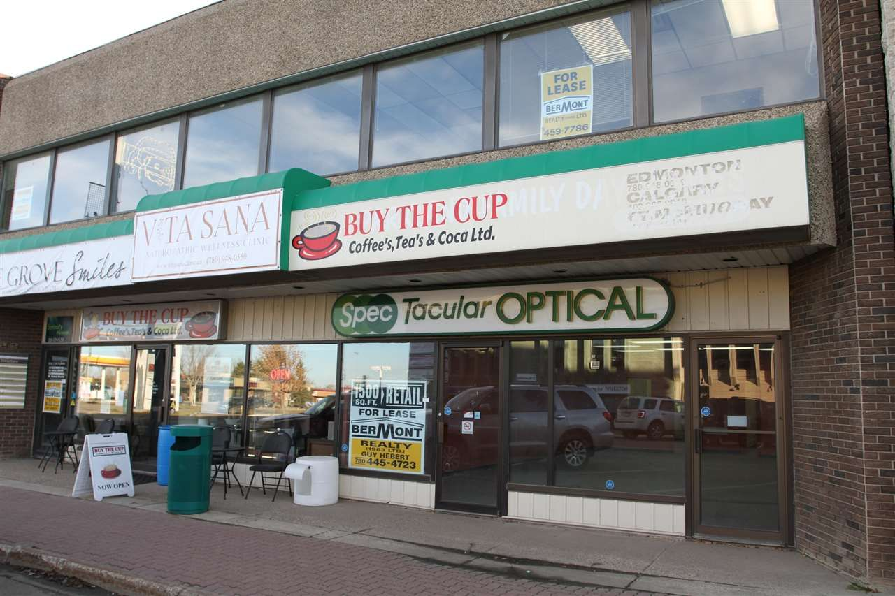 Main Photo: B 322 MCLEOD Avenue: Spruce Grove Retail for sale : MLS® # E4073717
