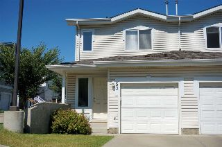 Main Photo: 50 130 Hyndman Crescent in Edmonton: Zone 35 House Half Duplex for sale : MLS® # E4075332