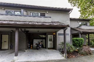 Main Photo: 8556 WOODRIDGE Place in Burnaby: Forest Hills BN Townhouse for sale (Burnaby North)  : MLS® # R2212987
