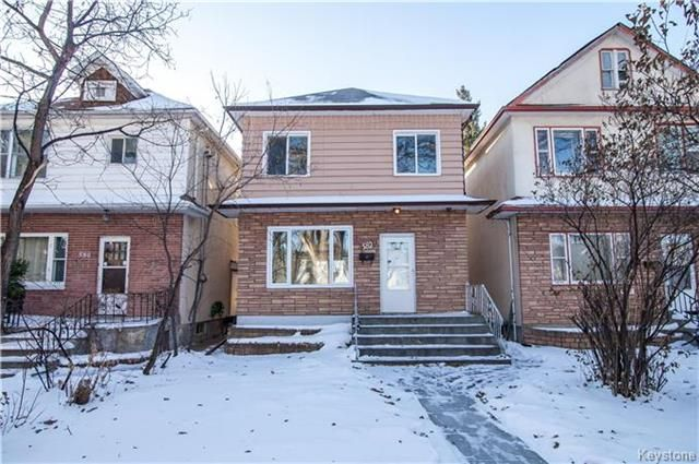 Main Photo: 582 Machray Avenue in Winnipeg: North End Residential for sale (4C)  : MLS® # 1729441