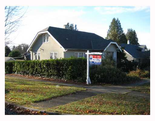 Main Photo: 2906 44TH Ave in Vancouver West: Kerrisdale Home for sale ()  : MLS® # V799381