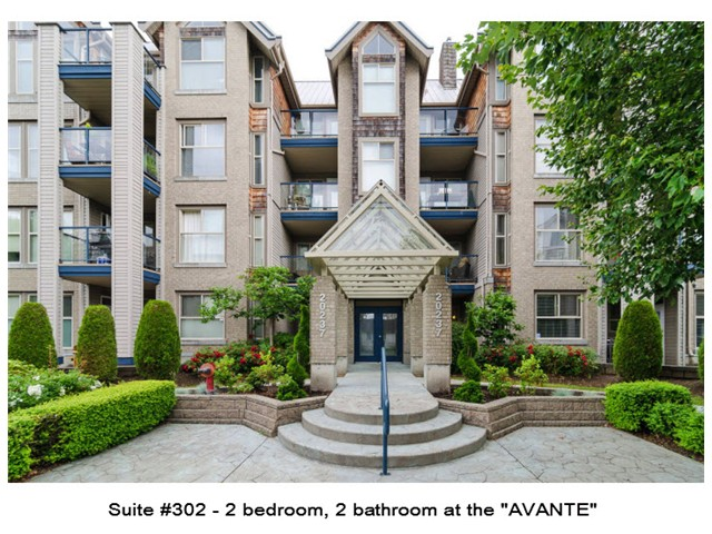"Main Photo: 302 20237 54TH Avenue in Langley: Langley City Condo for sale in ""AVANTE"" : MLS®# F1415338"