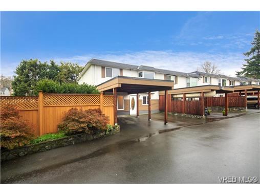 Main Photo: 1 3281 Linwood Avenue in VICTORIA: SE Maplewood Townhouse for sale (Saanich East)  : MLS®# 345401