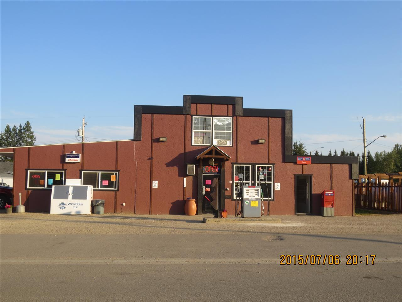 Main Photo: 5013 50 Street: Peers Business with Property for sale : MLS(r) # E4002415