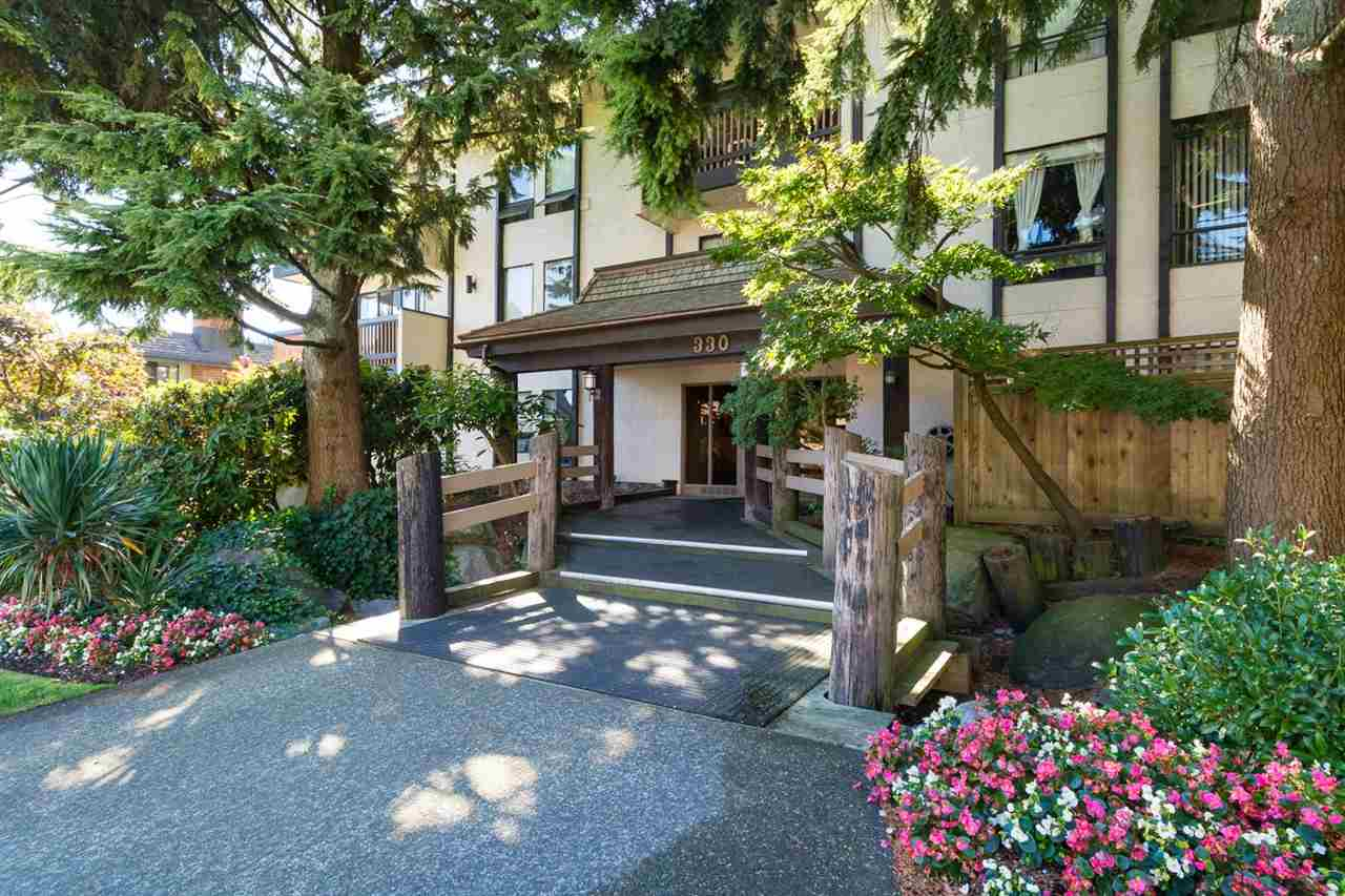 "Main Photo: 103 330 CEDAR Street in New Westminster: Sapperton Condo for sale in ""Crestwood Cedars"" : MLS® # R2101856"