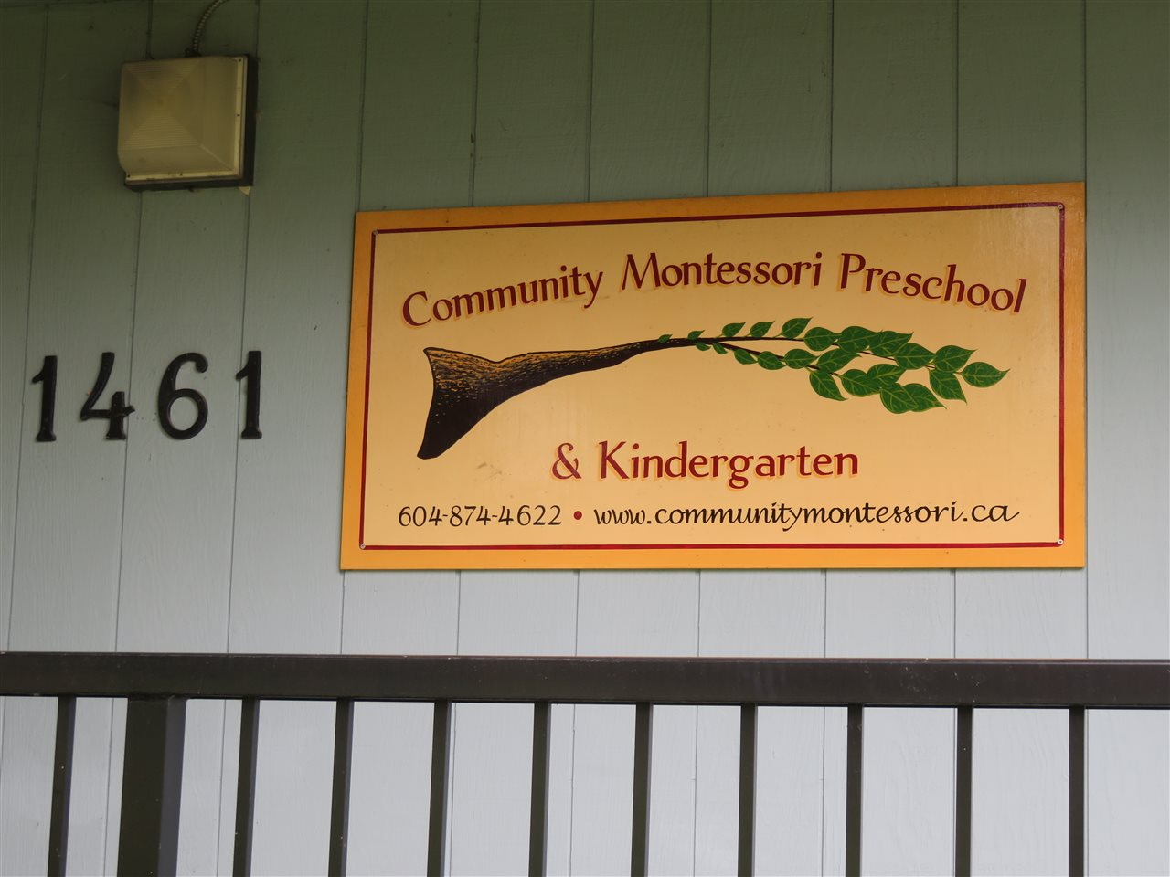 Community Montessori Pre-School and Kindergarten!